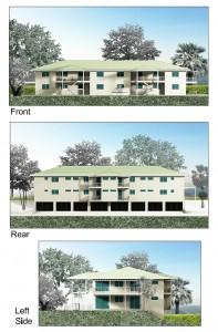 Building B Exterior Elevations