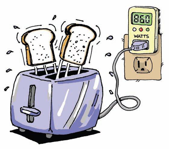 toast waffles negawatts